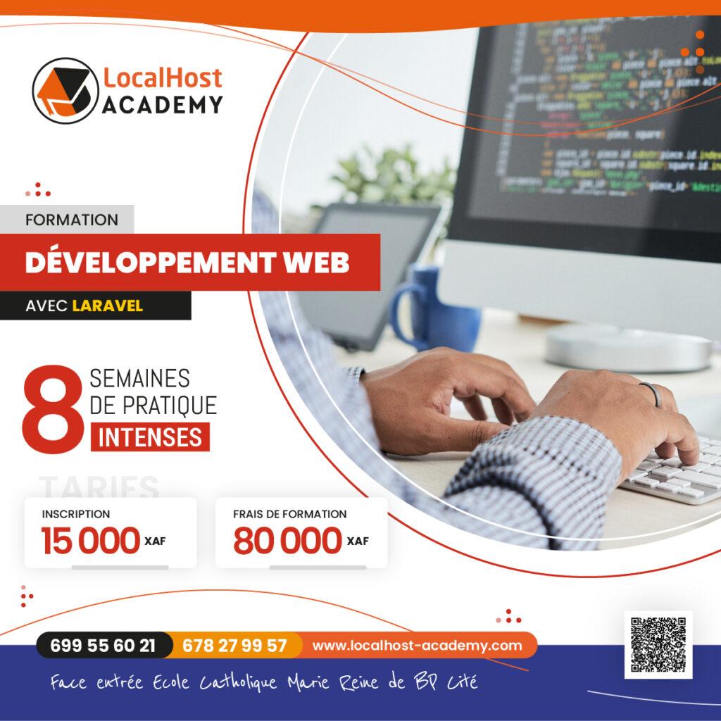 Formation en Développement d'Applications Web sous Laravel à Douala au Cameroun