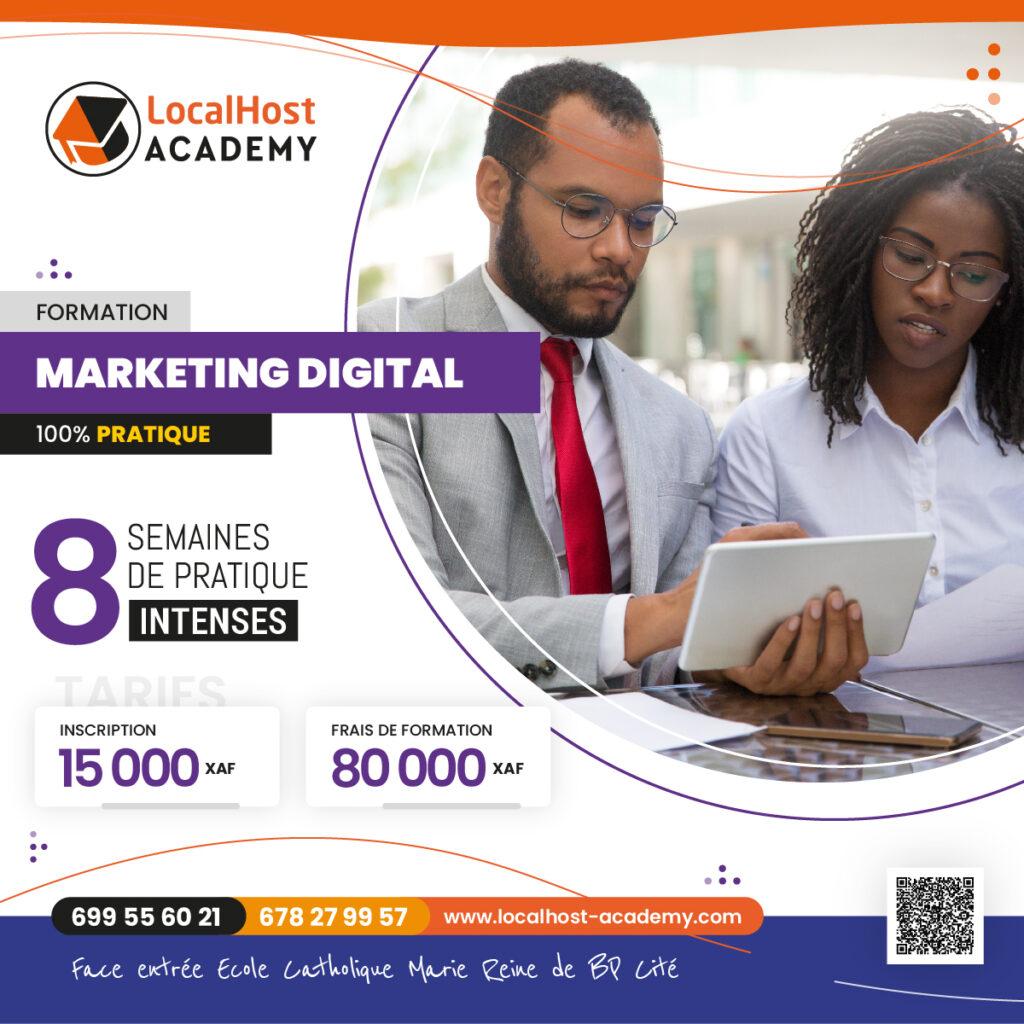 Formation en Marketing Digital et Community Management à Douala au Cameroun