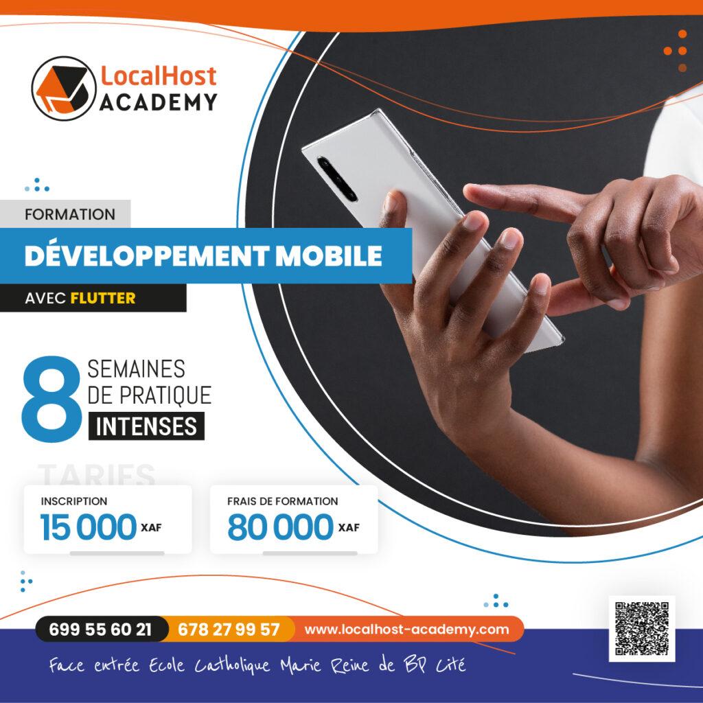 Formation en Développement Mobile sous Flutter à Douala