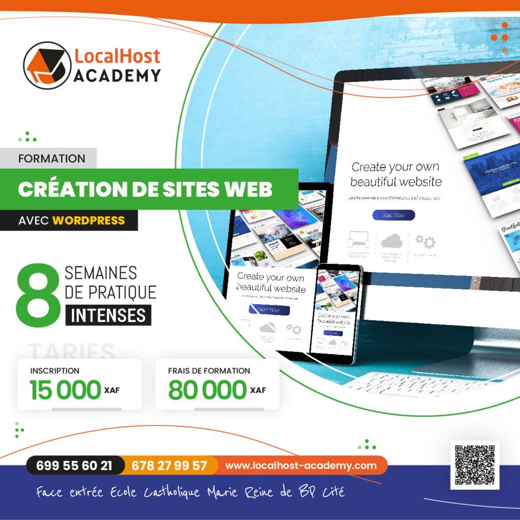 Formation en Création de Sites Web Professionnels à Douala sous WordPress